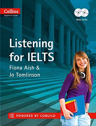 کتاب listening کالینز شامل لغات مفید آزمون IELTS