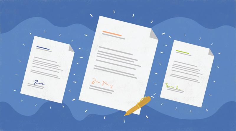 نوشتن نامه اداری انگلیسی Business Letter