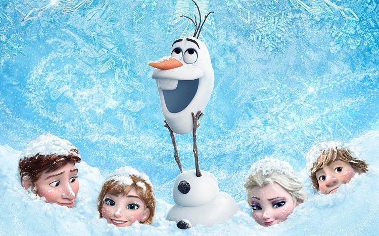 یادگیری زبان انگلیسی با انیمیشن Frozen