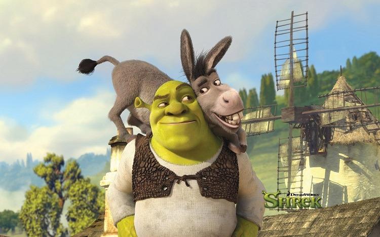 آموزش زبان انگلیسی با انیمیشن Shrek