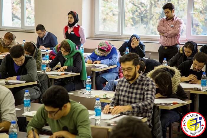 آزمون آزمایشی آیلتس در موسسه زبان سفیر