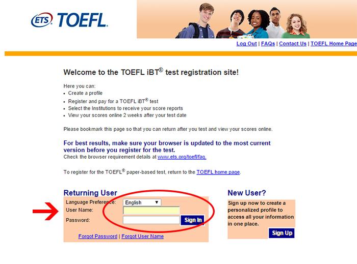 ثبت نام در آزمون و نحوه پرداخت