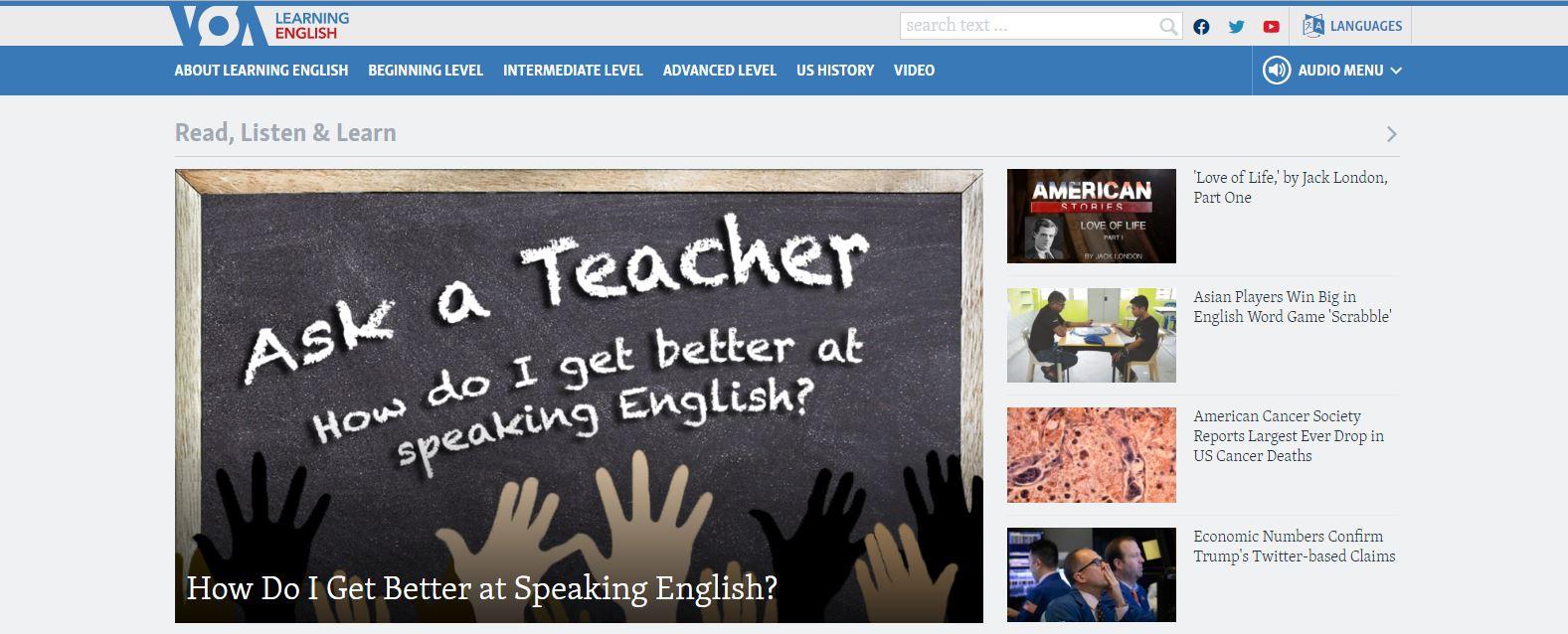 مجموعه پادکست انگلیسی Learning English from Voice of America News