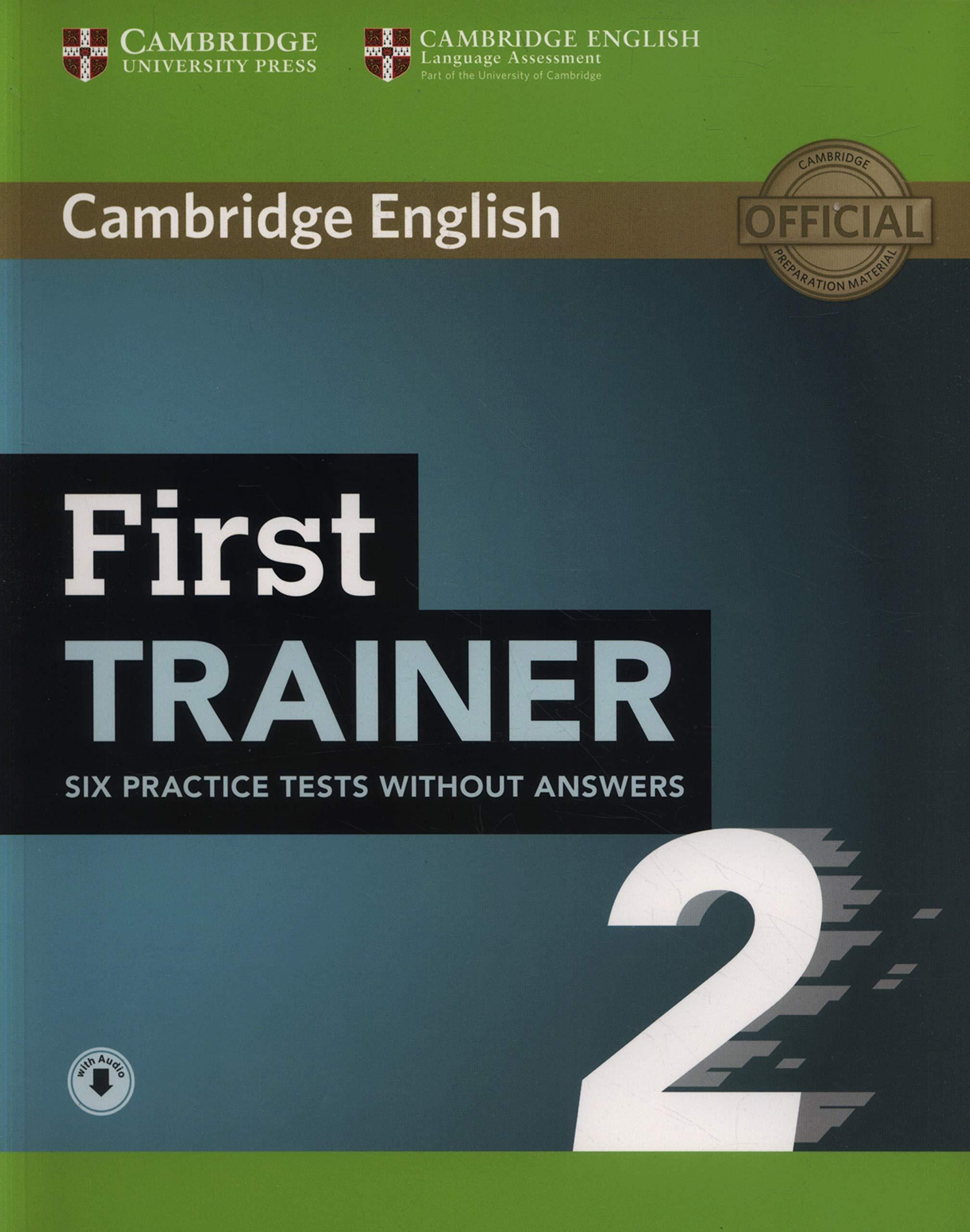 منابع آزمون fce کتاب First Trainer