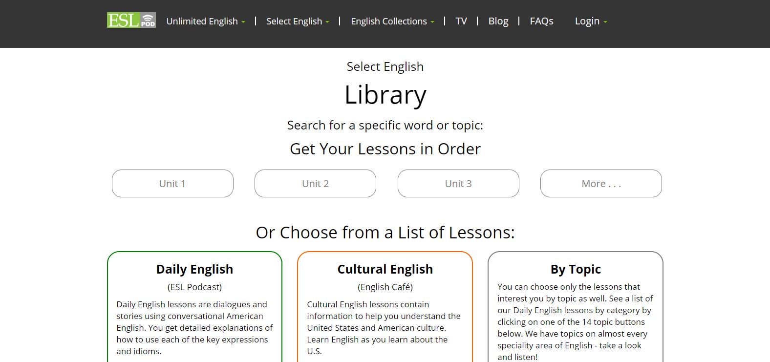 English as a Second Language podcast (ESLpod