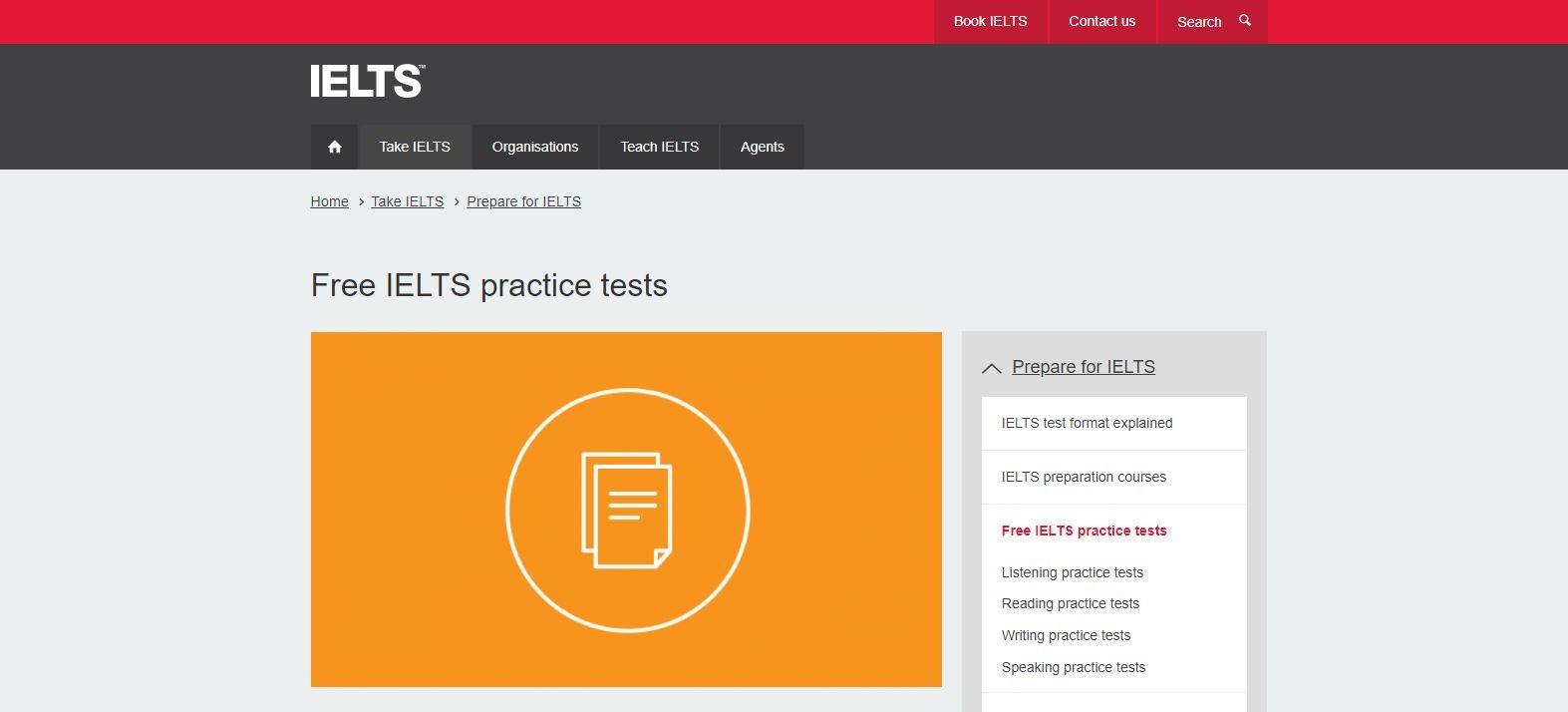 Free IELTS practice tests آزمون ایگان آیلتس