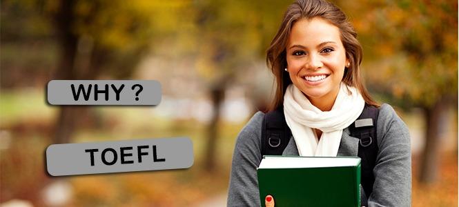 TOEFL مخفف Test of English as a Foreign Language