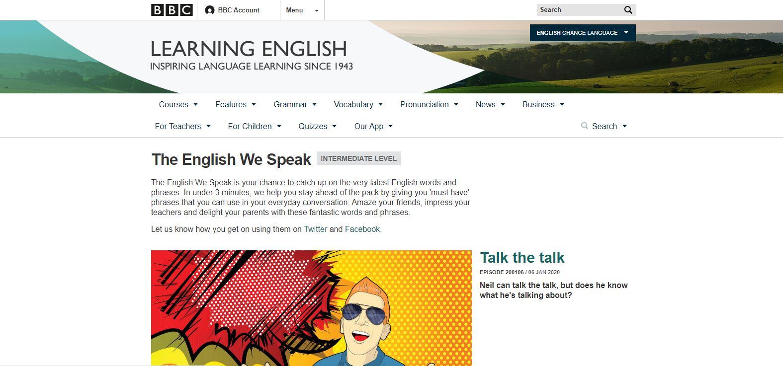 پادکست آموزش زبان انگلیسی bbc