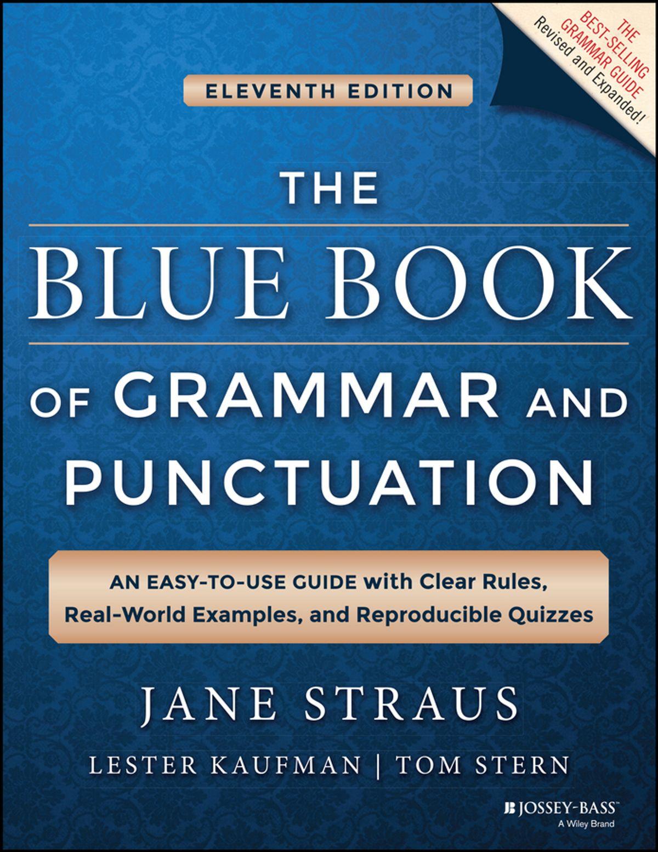 The Blue Book of Grammar and Punctuation بهترین کتاب برای تقویت گرامر زبان انگلیسی