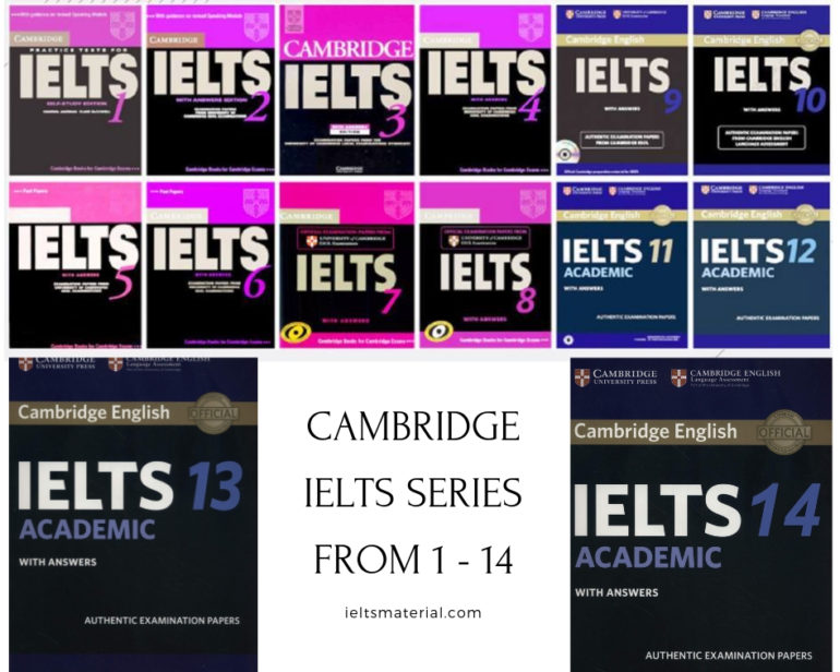 5- Cambridge IELTS series – essentials books that you must work with answers