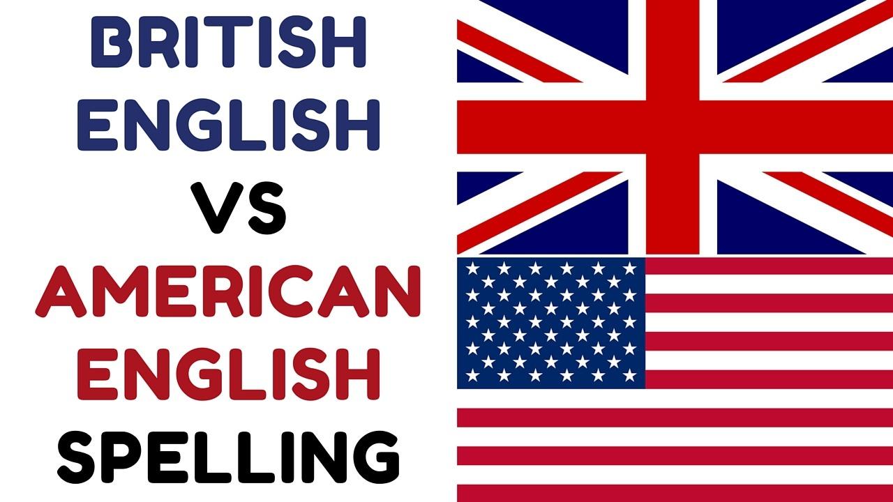 تفاوت املایی مهم در زبان امریکایی و زبان انگلیسی