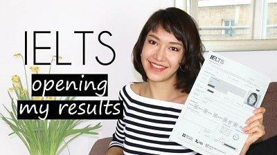 کارنامه نتایج امتحان ایلتس