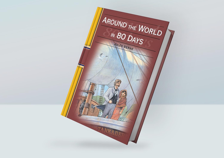 رمان دور دنیا در ۸۰ روز (around the world in 80 days)