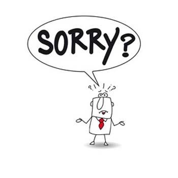 عبارت های ساده انگلیسی برای عذرخواهی