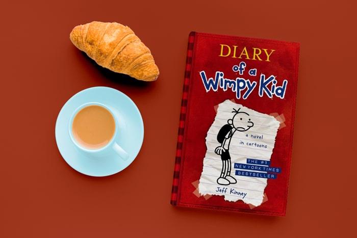 کتاب های مصور زبان انگلیسی Diary of a Wimpy Kid