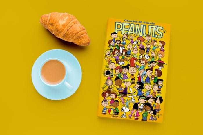 """کتاب مصور زبان انگلیسی """"Peanuts"""""""