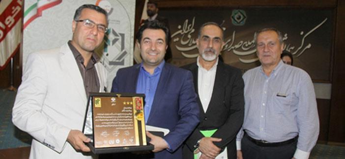 انتخاب مدیر عامل موسسه سفیر گفتمان به عنوان چهره ماندگار مدیریت ایران