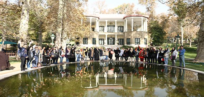 تور یک روزه تفریحی-آموزشی SODET به مقصد کاخ موزه نیاوران (دوره هشتم) برگزار شد