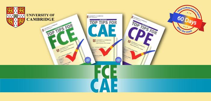 آزمون های بین المللی FCE و CAE