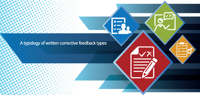 A typology of written corrective feedback types