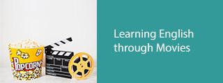 یاد گیری زبان با movies