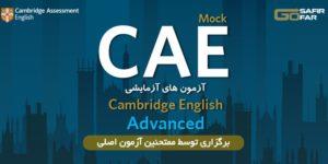 آزمون آزمایشی CAE