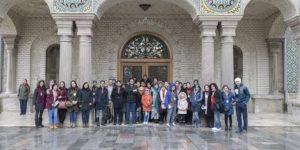 تور یک روزه تفریحی- آموزشی SODET به مقصد کاخ گلستان (دوره چهل و دوم) برگزار شد