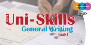 کارگاه آیلتس آموزشی Uni Skills Writing General Task1
