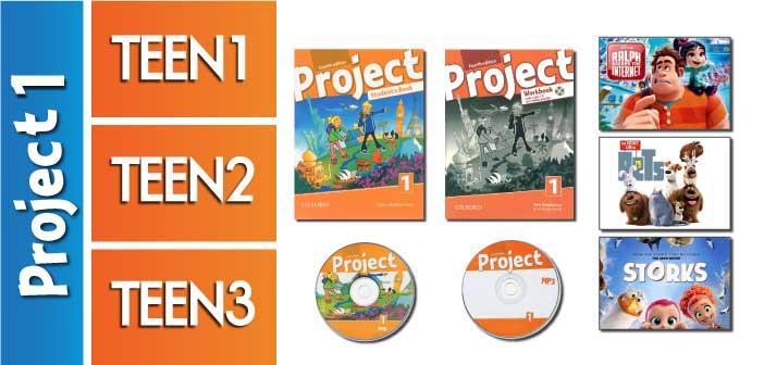 کلاس زبان مبتدی نوجوانان (Project 1 / Beginner (A1