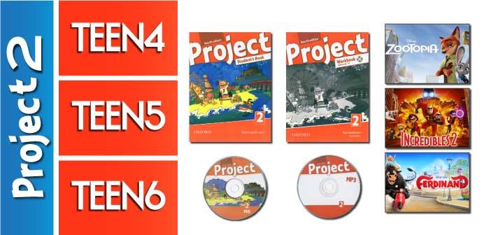 کلاس زبان پیش مقدماتی نوجوانان (Project 2 / Beginner - Elementary (A1-A2