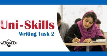 کارگاه آیلتس writing task 2 مرداد ماه