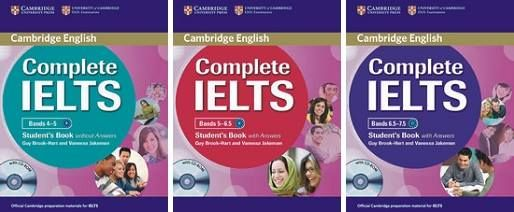 Cambridge Complete IELTS منبع آیلتس خود آموز
